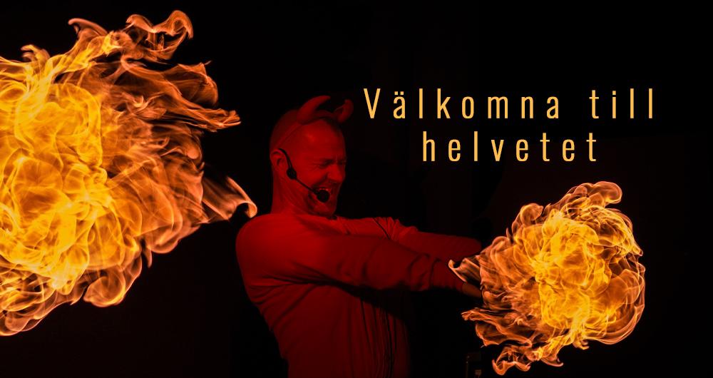 Välkomna till Helvetet, teater i Knivsta